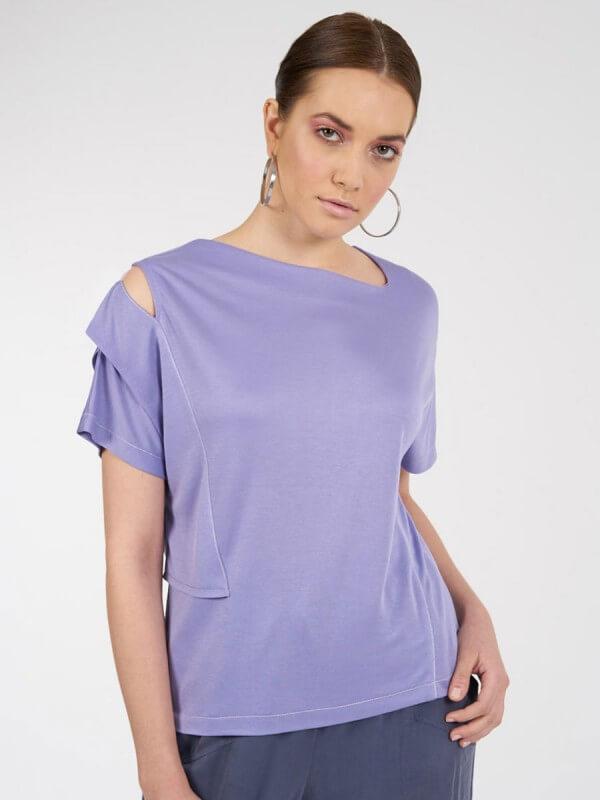 Vena T-Shirt (Lila)