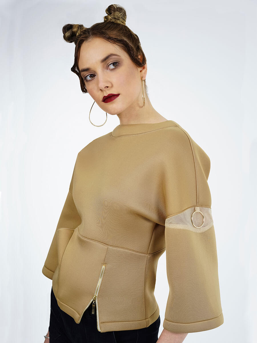 Galia Sweatshirt (Gold)