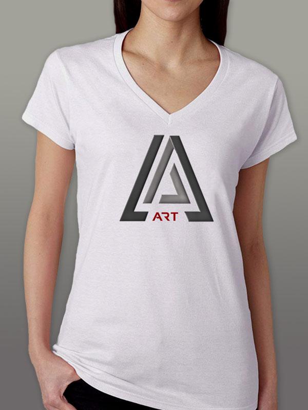Art White Women's T-Shirt