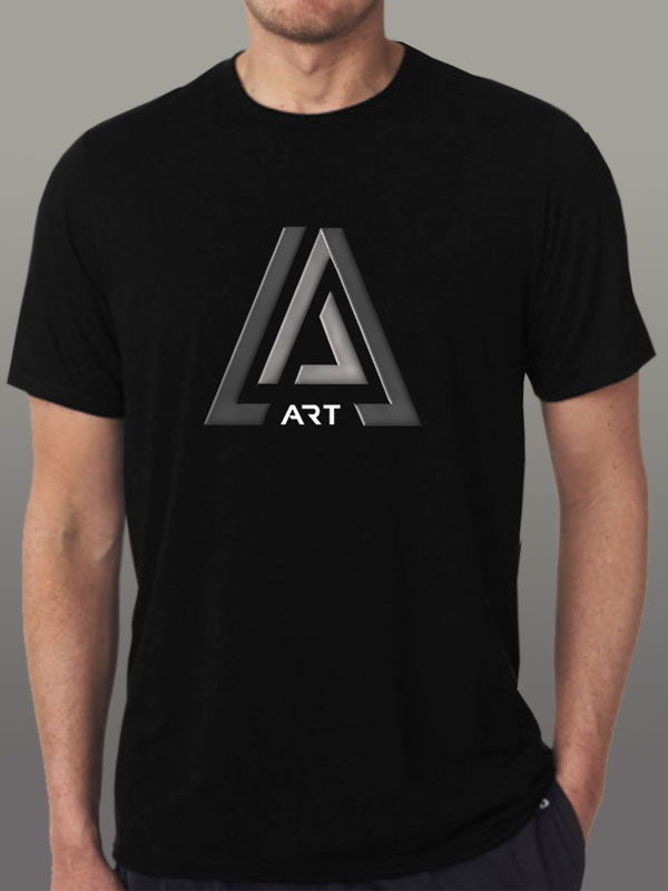 Art Black Men's T-Shirt