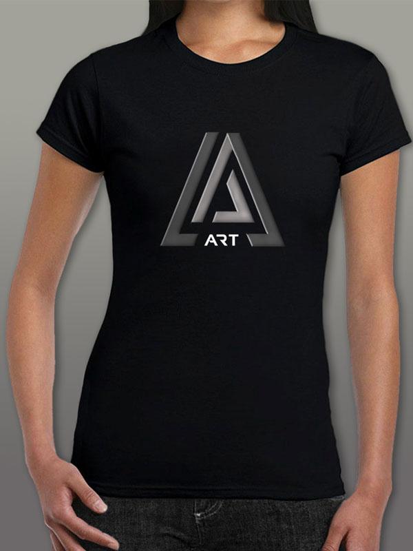 Art Black Women's T-Shirt