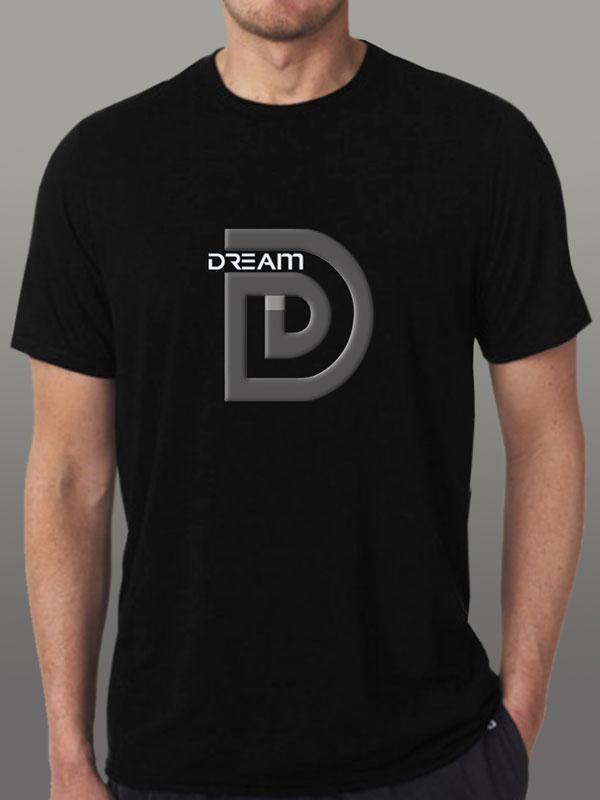 Dream Black Men's-Tshirt