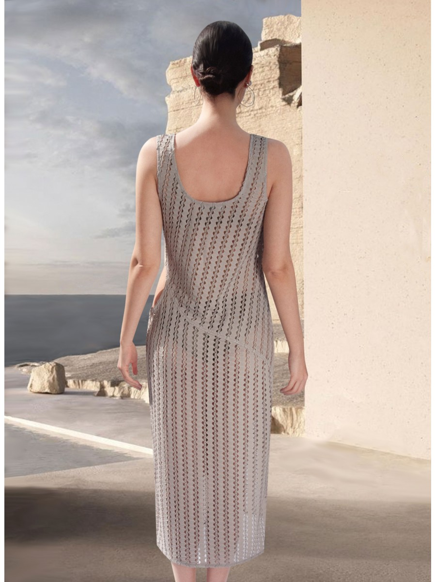 Jaya Mesh Dress