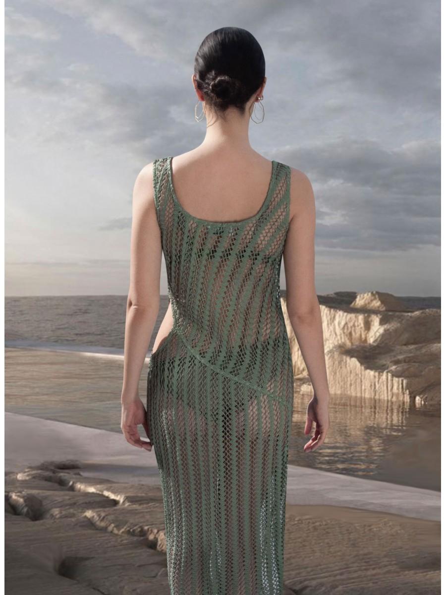 Leda Mesh Dress