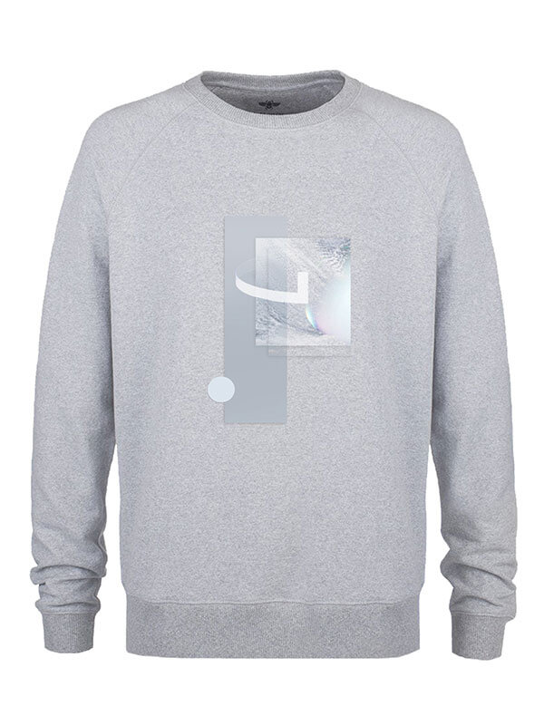 Utopia Grey Unisex Sweatshirt